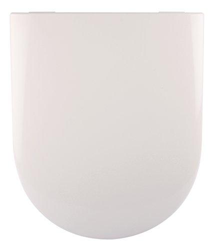 Sanitop-Wingenroth - 21908 2 - WC-Sitz - Villeroy & Boch in  Weiß - Passend zu Subway, Artic, Omnia Achitectura aus Duroplast - Toilettensitz mit Absenkautomatik
