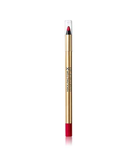 Max Factor Colour Elixir Lip Liner Red Blush 12 – Perfekt definierte Lippenkontur für formvollendete, in Szene gesetzte Lippen – Mit geschmeidigem Auftrag