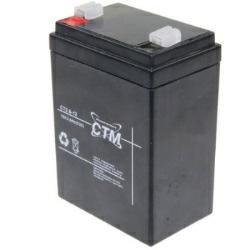 CTM Bleiakku CT2,6-12 12 Volt 2600 mAh für Waeco PowerVac