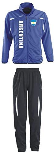 Aprom-Sports Argentinien Trainingsanzug - WM 2018 Sportanzug - S-XXL - Fußball Fitness (2XL)