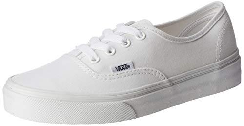 Vans AUTHENTIC, Unisex-Erwachsene Sneakers, Blanc - True White, 42 EU