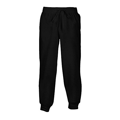 Gildan Unisex Heavy Blend Sweathose bis 5XL/Black, 4XL
