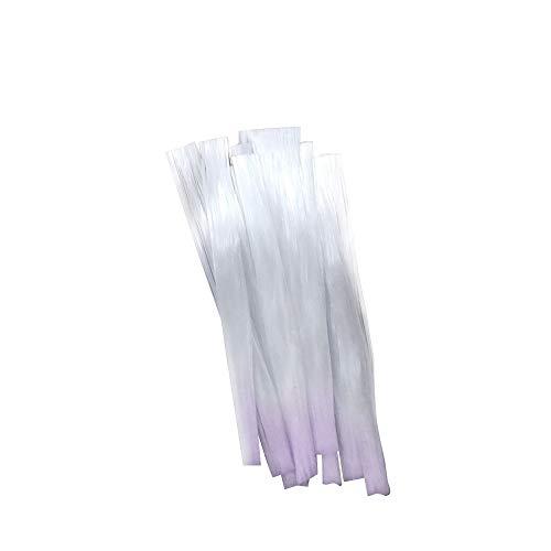 Anself 10stk Fibernails Fiberglas für Nagelverlängerung Nagel Acryl Tipps Salon Maniküre Werkzeug