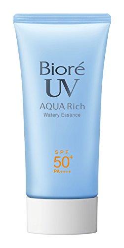 Biore KAO JAPAN AQUA RICH Sarasara SPF50+ PA++++ NEW 2015 50g Sunscreen