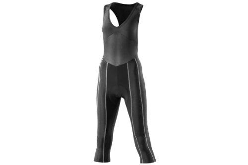 Skins Damen 3/4 Tights Cycle Pro Women's Fxs, Black/Silver, XS, C52021048FXS