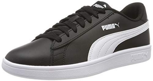 Puma Smash v2 L, Unisex-Erwachsene Sneakers, Schwarz (Puma Black-Puma White), 43 EU (9 UK)