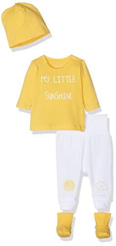 NAME IT Unisex Baby NBNUBBEHA GIFTPACK Bekleidungsset, Gelb (Daffodil), (Herstellergröße: 56)