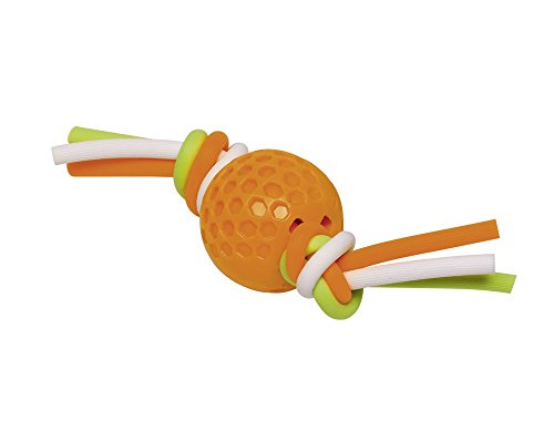 Nobby 60389 TPR Golfball mit Silikonband, orange