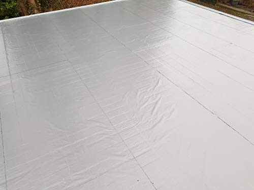 Agande selbstklebende Dachfolie Dachbahn 5m²(ab10.80€/m²) Gartenhäuser Dachabdichtung Bitumen