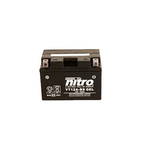 Batterie 12V 10AH YT12A-BS Gel Nitro 51013 SFV 650 Gladius ABS WVCX 09-16