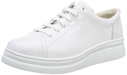 CAMPER Damen Runner Up Sneaker, Weiß (White Natural 100), 35 EU