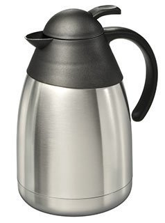 Edelstahl Isolierkanne 1,5 l Edelstahlkanne Thermokanne Kaffee Tee Kanne