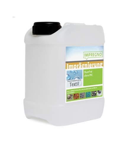IMPREGNO Imprägnierung, vegan, PFC frei, Textil 2,5 Liter Imprägniermittel Schutz Pflege fluorfrei Waterproof