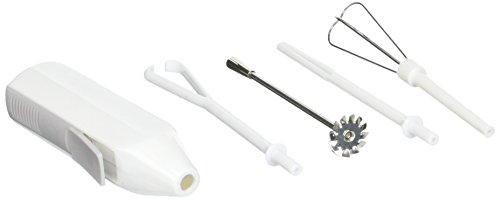 Norpro schnurloser Mini-Mixer, Weiß