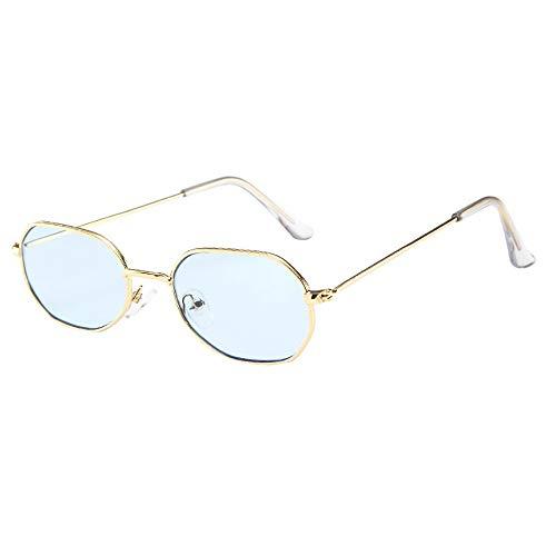 Honestyi Frauen Männer Vintage Retro Brille Unisex Kleine Sonnenbrille Sonnenbrillen 3553 kleine box sonnenbrille