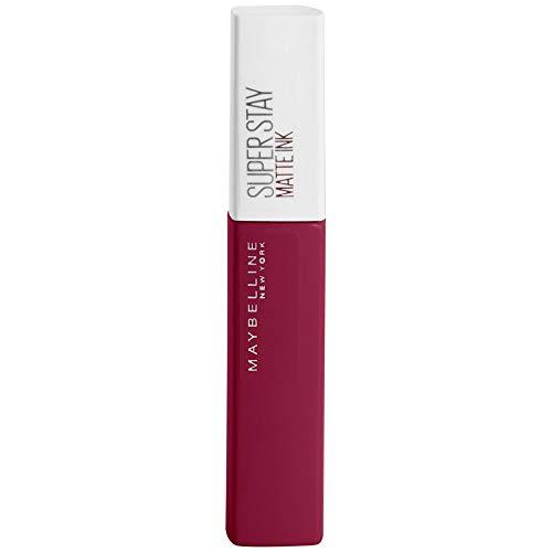 Maybelline New York Super Stay Matte Ink Lippenstift - flüssiger Lippenstift, bis zu 16 Stunden Halt, intensive & langanhaltende Farben, mattes Finish, Nr. 115 Founder, 5 ml