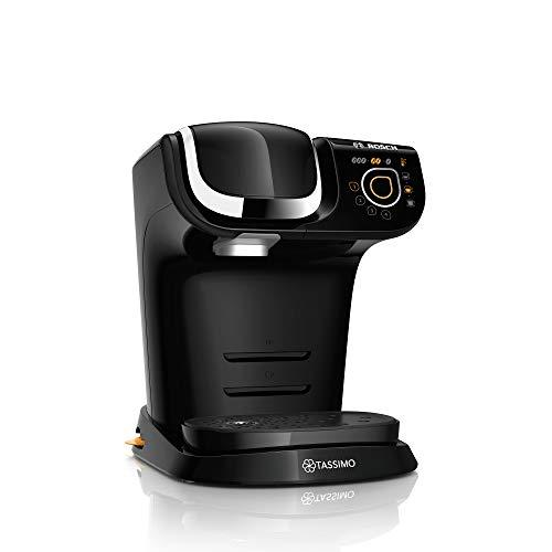 Bosch TAS6502 My Way Kapselmaschine, 1500, Mit Wasserfilter, 1,3 liters, schwarz