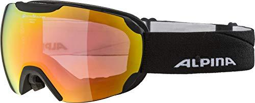 ALPINA Unisex– Erwachsene S-Way cm+ Sportbrille, Black matt, One Size