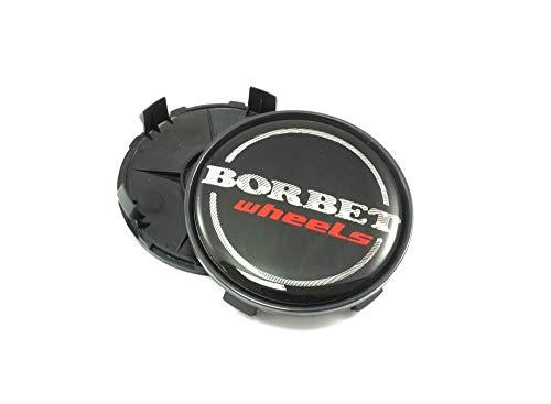 1x Borbet Nabendeckel Felgendeckel Nabenkappe 68,4mm für Borbet XRT Schwarz LK 5x120