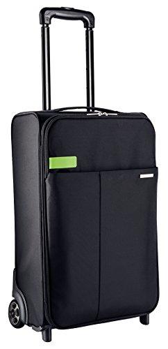 Leitz Complete 2-Rollen Handgepäck Trolley Smart Traveller, Schwarz, 62100095