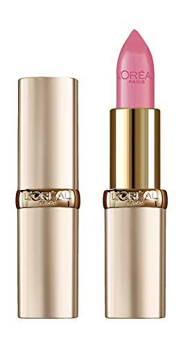 L'Oréal Paris Pflegender Lippenstift mit Satin Finish, Argan-Öl und Vitamin E, Color Riche, Nr. 303 Rose Tendre, 1 x 4,3 g