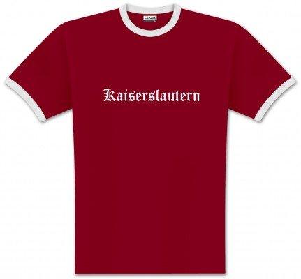 World of Football Ringer T-Shirt Old Kaiserslautern - XL