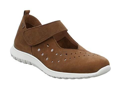 Josef Seibel 71711 Malena 11 Damen Low-Top Sneaker,Halbschuh,Schnürschuh,Strassenschuh,Business,Freizeit,Castagne,39 EU
