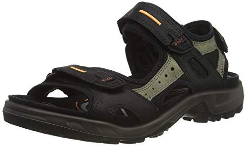 Ecco ECCO OFFROAD, Herren Outdoor Sandale, Schwarz (BLACK/MOLE/BLACK50034), 45 EU (11 Herren UK)