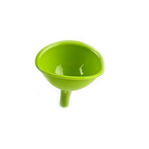 GreceMonday One Piece Silikon Funnel Küche Werkzeug DIY Eiswürfel Schokolade Trichter Multifunktionssilikonöl Leak grün
