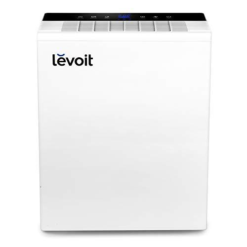 LEVOIT Luftreiniger Air Purifier mit HEPA-Kombifilter Luftqualitätssensor, 99,97% Filterleistung gegen Staub Allergien Rauch Tierhaare, Raumluftreiniger mit Automodus Schlafmodus Timer, LV-PUR131