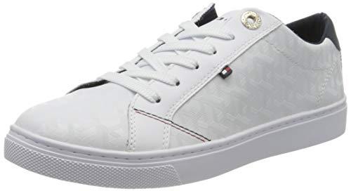 Tommy Hilfiger Damen Venus 29a Sneaker, Beige (White Ybs), 42 EU