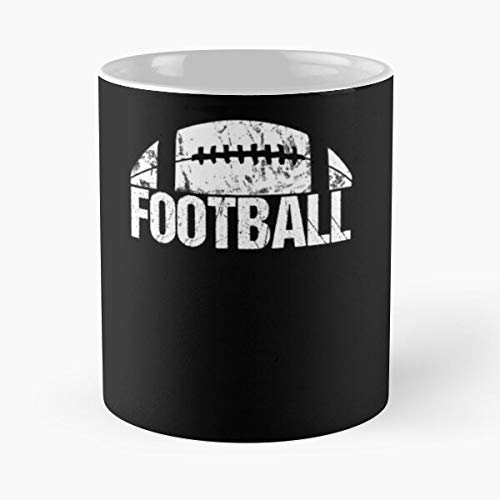 American Football Kostüm Retro Outfit Classic Mug Best Gift Coffee Mugs 11 Oz