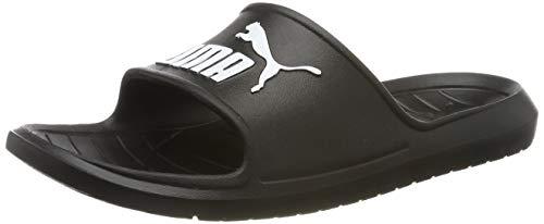 Puma Unisex-Erwachsene Divecat v2 Zapatos de Playa y Piscina, Schwarz Black White, 42 EU