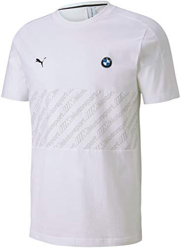 PUMA Herren BMW MMS T7 Tee T-Shirt, Weiß, XX-Large