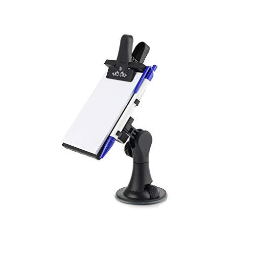 Beikal Auto-Notizbrett, Flexibles Auto Memo-Pad, Clip Pads mit Stift, Papierhalter, Mehrzweck-Saugnapf