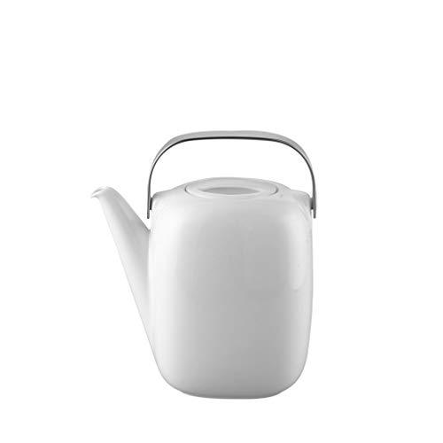 Rosenthal - Suomi Kaffeekanne für 6 Personen 3tlg - Weiß 1,5 l