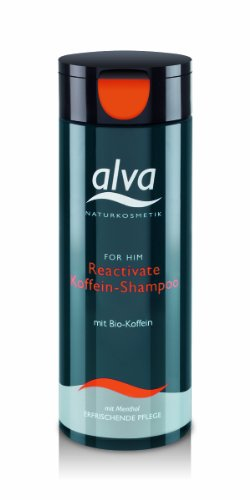 Alva for Him Reactivates Koffein-Shampoo 200 ml