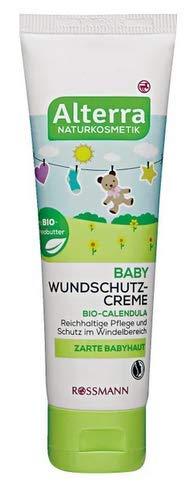 Baby Wundschutz-Creme - mit Bio-Calendula, Bio-Sheabutter und Zinkoxid - 75 ml