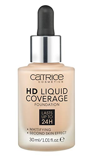 Catrice Make-up HD Liquid Coverage Foundation Rose Beige 20 1er Pack(1 x 150 grams)