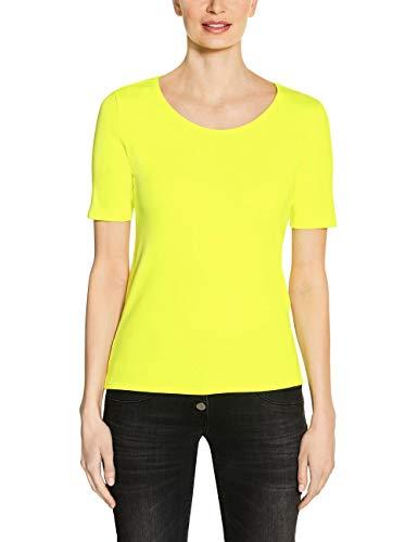 Cecil Damen Lena T-Shirt, neon Lemon, X-Large