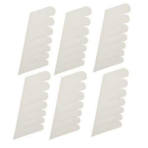 Nagelschutzaufkleber Silk Nagel-Wrap - Nail Wrapping Seide, Self Adhesive Fiberglas, Nagel-Schutz-Aufkleber-Nagel-Werkzeug for UV-Gel-Nägel (6Pcs)
