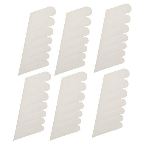 Silk Nagel-Wrap - Nail Wrapping Seide, Self Adhesive Fiberglas, Nagel-Schutz-Aufkleber-Nagel-Werkzeug for UV-Gel-Nägel (6Pcs)
