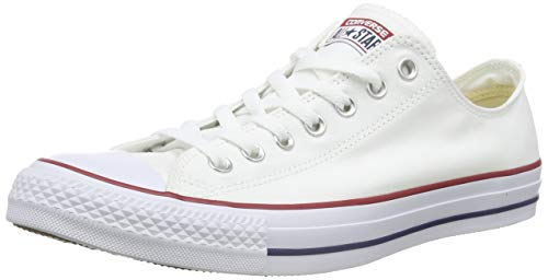 Converse Unisex-Erwachsene Chuck Taylor All Star-Ox Low-Top Sneakers, Weiß (Optical White), 41 EU