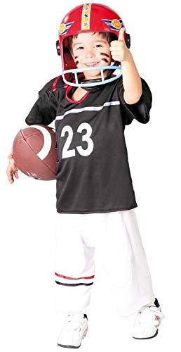 Fancy Me Jungen American Football Quarterback aus Aller Welt Sport Kostüm Kleid Outfit 5-12 Jahre - Multi, 7-9 Years