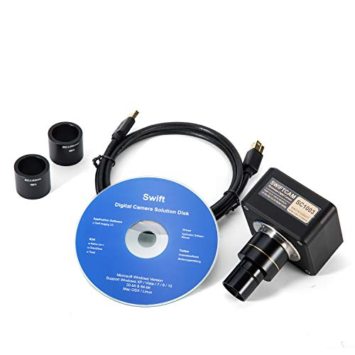 SWIFT Optisches Mikroskop Digitalkamera Echtzeit-Video USB Mikroskop Kamera + Software + Kalibrier-Kit 3 MP, 5 MP, 10 MP, 1