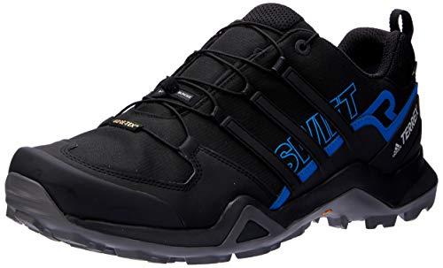 adidas Herren Terrex Swift R2 GTX Trekking-& Wanderhalbschuhe, Schwarz (Negbás/Negbás/Azubri 000), 43 1/3 EU