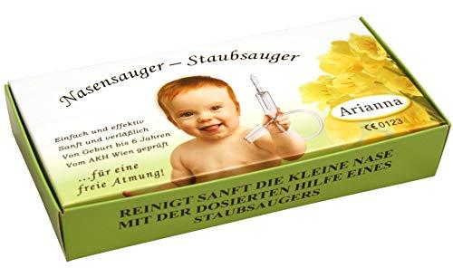 Nasensauger. Das Original. Mit 2 Saugköpfen und Gratis Reinigungsbürste