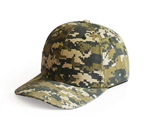 UltraKey  Baseballkappen, Militär-Camouflage-Kappen, Schirmmützen, können für Outdoor-Aktivitäten wie Angeln, Camping und Jagd verwendet Werden Tarnung, Verstellbare, Digitale Tarnung