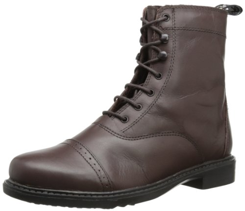 TuffRider Damen Barock Paddock Boots, Schnürschuh, Damen, 3055, Mokka, 9
