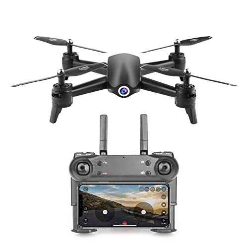 Mnjin RC Quadcopter GPS Drone Faltbare 1080P Kamera, Drone mit Kamera für Erwachsene, Drone WiFi FPV APP Telefon, Drone Wide Angel Kamera, Selfie Drone